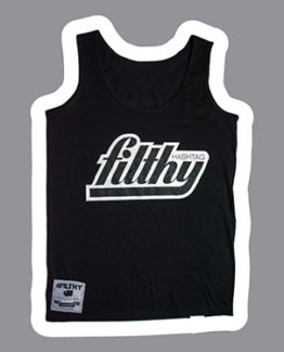 hashtag-filthy-womens-black-throwback-tank-top-front-image